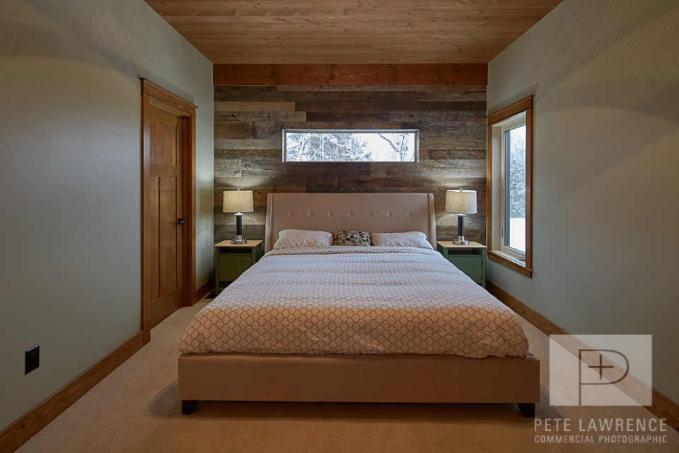 Emma Lake Timber Frame Log Home | Streamline Design