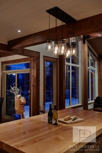 Emma Lake Timber Frame Log Home 10 | Streamline Design