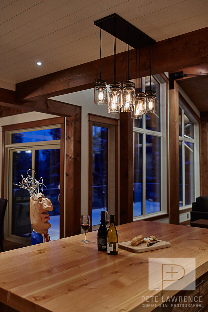 Emma Lake Timber Frame Log Home 10 | Streamline Design