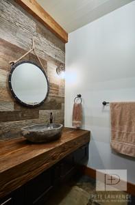 Emma Lake Timber Frame Log Home 12   Streamline Design