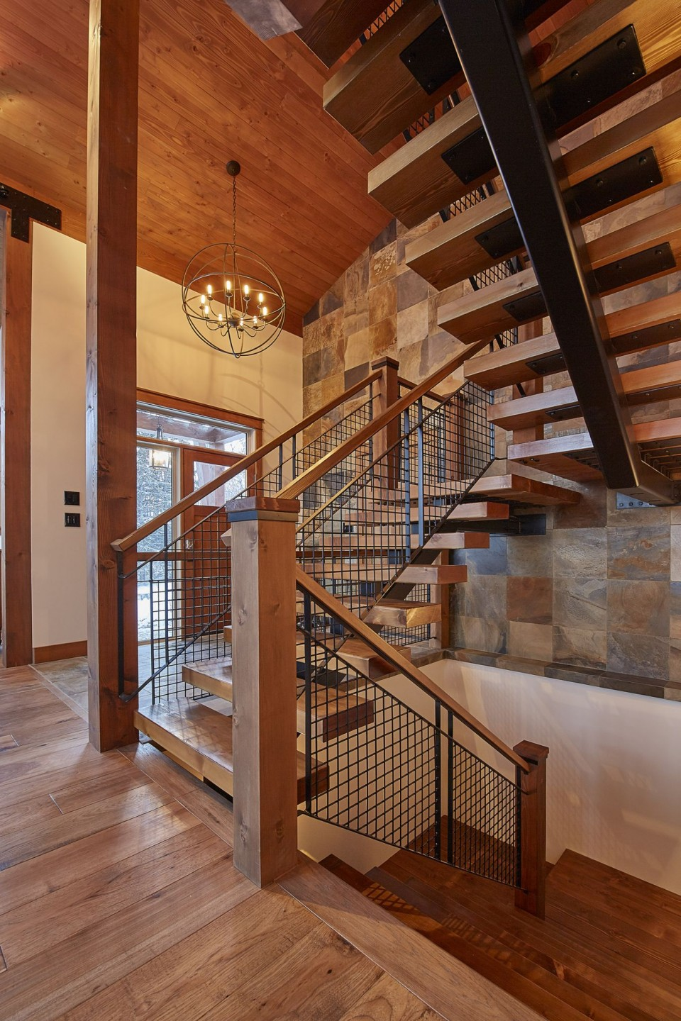 Emma Lake Timber Frame Log Home 20 | Streamline Design