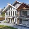 Straiton Timber Frame Home Backyard | Streamline Design Ltd