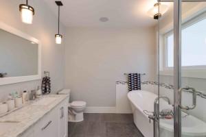 Straiton Timber Frame Home Bathroom | Streamline Design Ltd