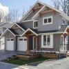 Straiton Timber Frame Home Front Yard | Streamline Design Ltd