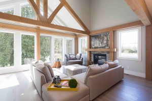 Straiton Timber Frame Home in Abbotsford | Streamline Design Ltd