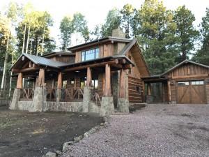 rustic-looking-log-home