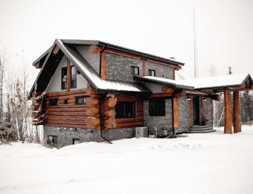 The Sunny Valley Log Home Design