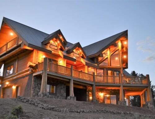 Modified Ruby Lake Log Home Design