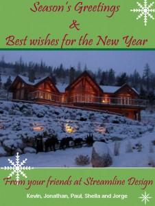 Streamline Designs Holiday Card