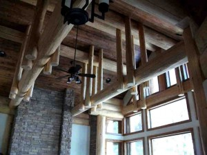 Custom Roof Beam Design