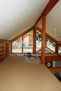 Vaulted Attic and play space