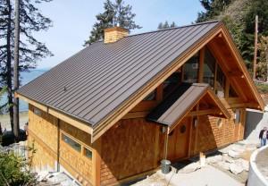 Ocean Side Log Home