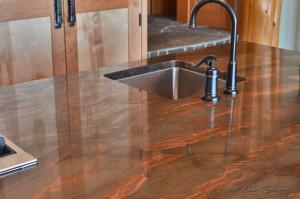 Custom kitchen counter tops