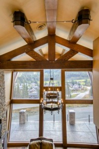 Beautiful Timber Frame Vaulted Ceilings