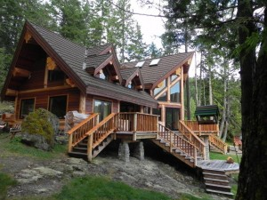 Reichman Home Perched in the forest