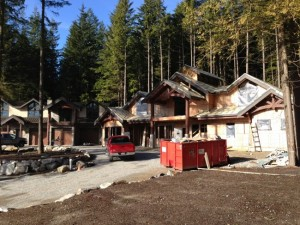 Canadian Made Timber Frame Home Construction
