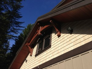 Vancouver Timber Frame Home - Exterior Finish