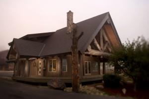 log home store