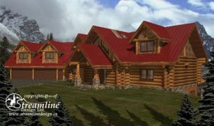 front-of-log-house-plans