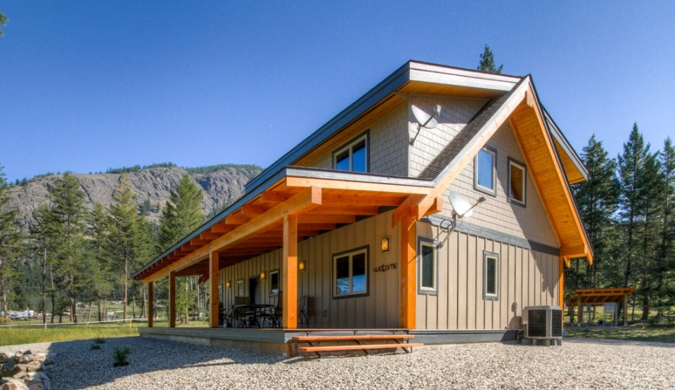 Turtle valley timber frame design streamline design for Small timber frame home plans