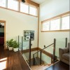 stairwell-downstairs-in-timber-frame-house