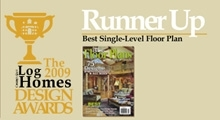 Runner Up The Log Home Design Awards