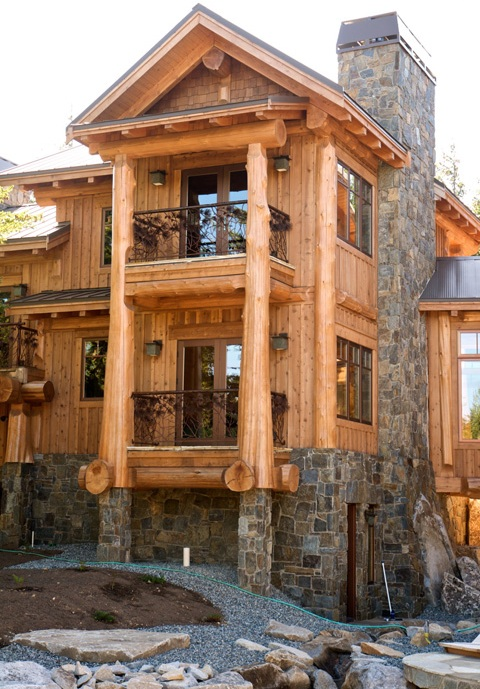 Timber Frame Home with private Balcony's