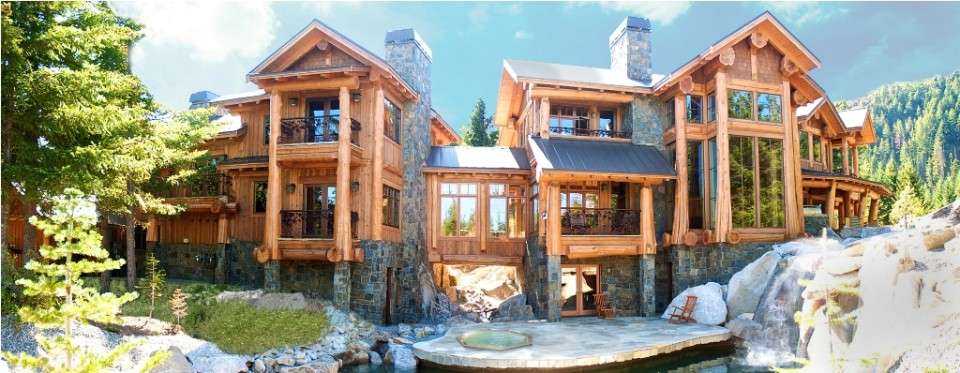 Large Log Cabin