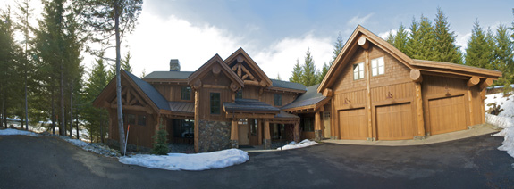Beautiful West Coast Timber Frame Home