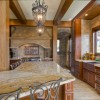 Large Custom Kitchen in Log home