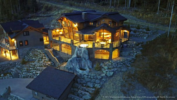 Beautiful log home is featured