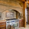Custom Kitchen in log home