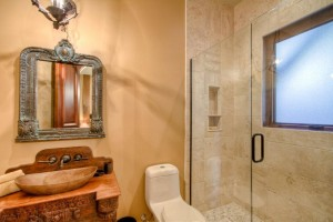 custom bathroom and shower