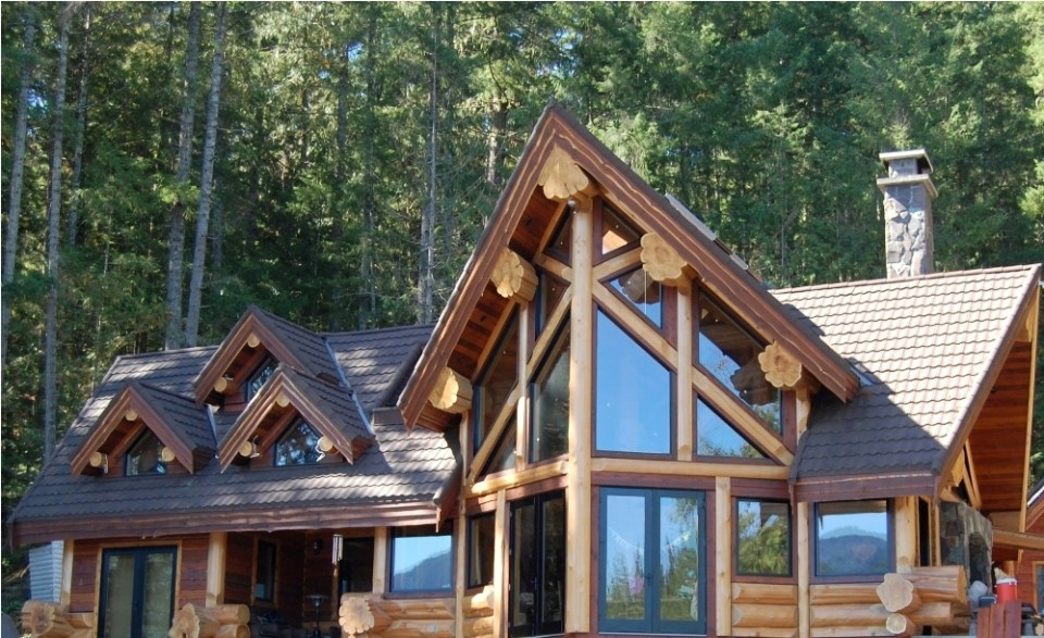 beautiful timber frame home design