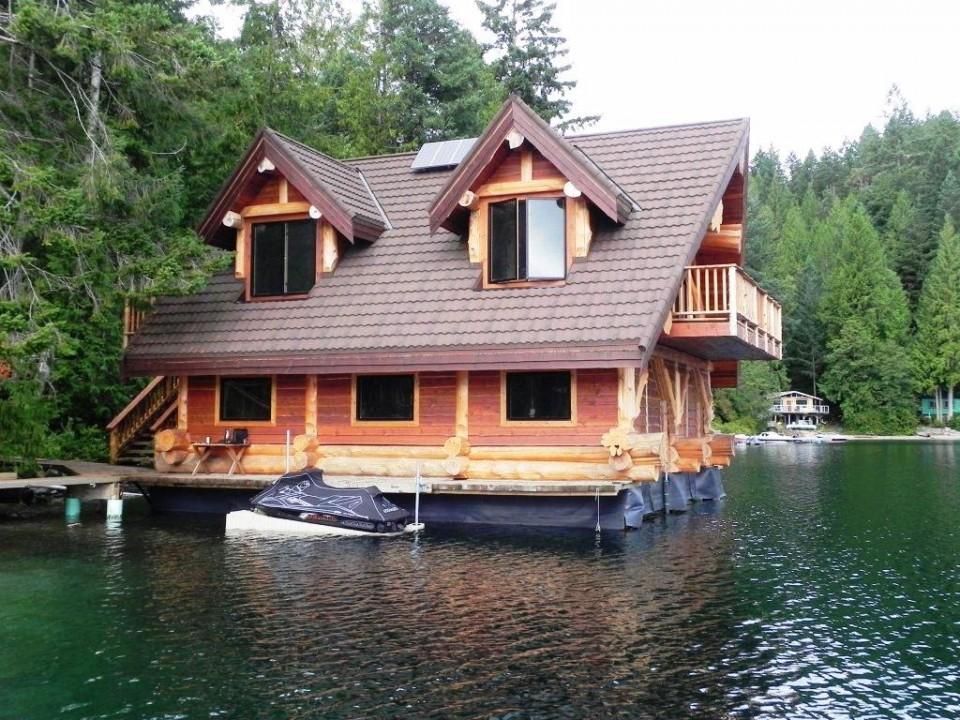 On the Lake Log Cabin