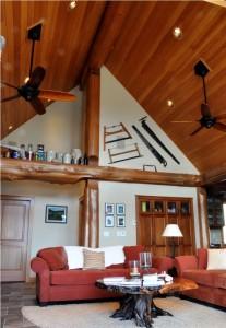 A frame living room