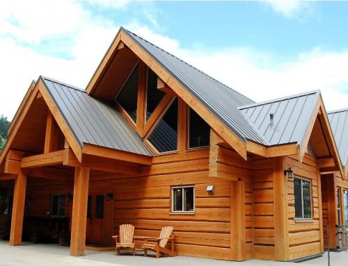 Roosevelt Log Home Design