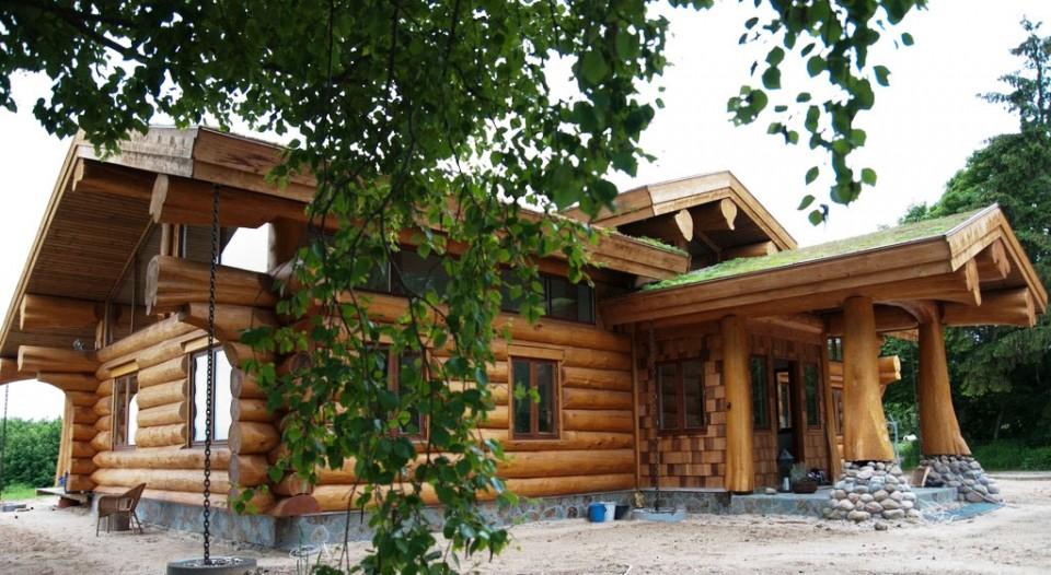 luxury log cabin