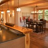 timber frame home interior
