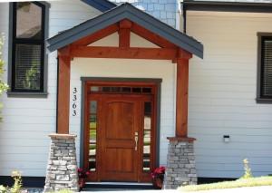 New home front door
