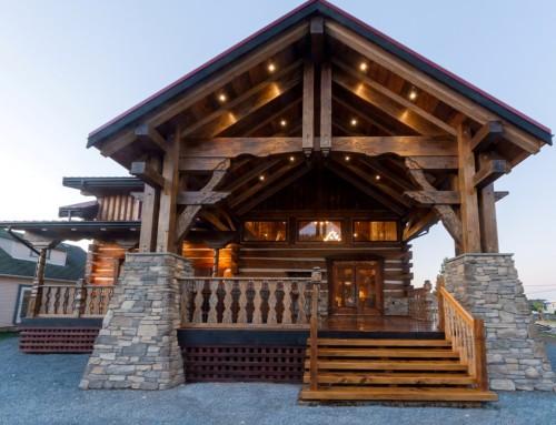 Big Rock Log Home Design