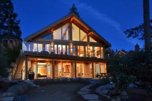 Davis Bay Timber Frame Home 18