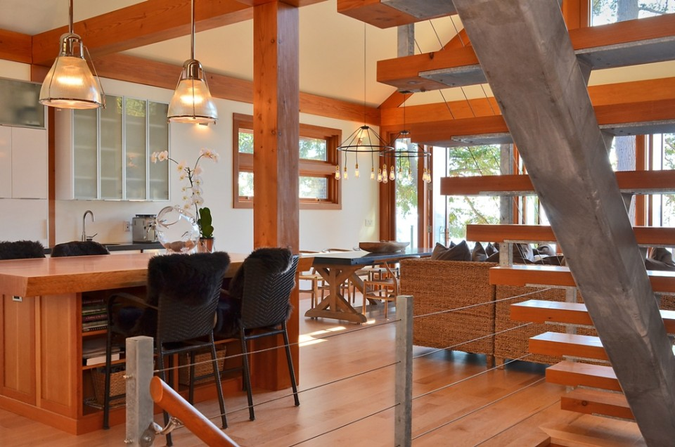 Davis Bay Timber Frame Home 16