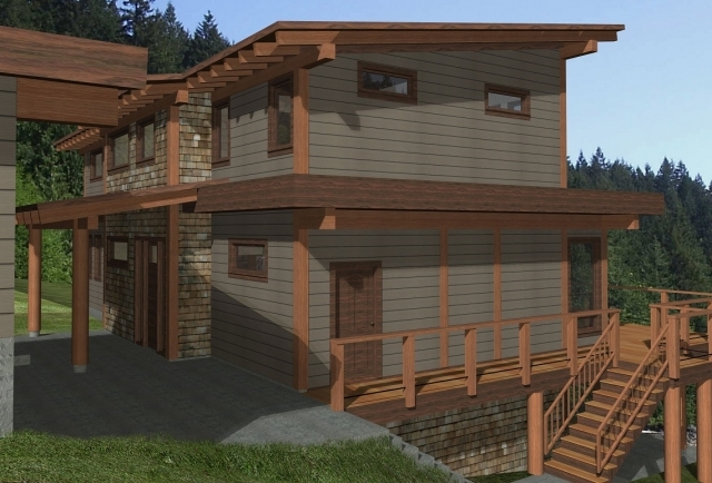 Beach Ave Timber Frame Plan