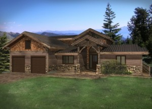 Burfield Timber Frame Home