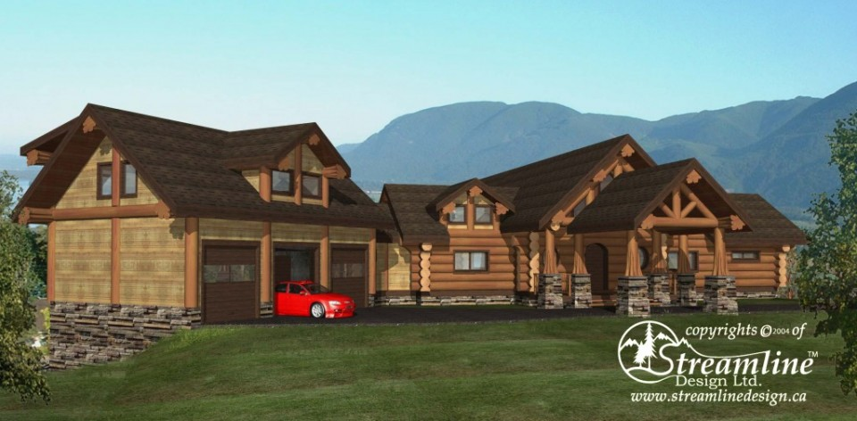 Chilson Log Home Plans
