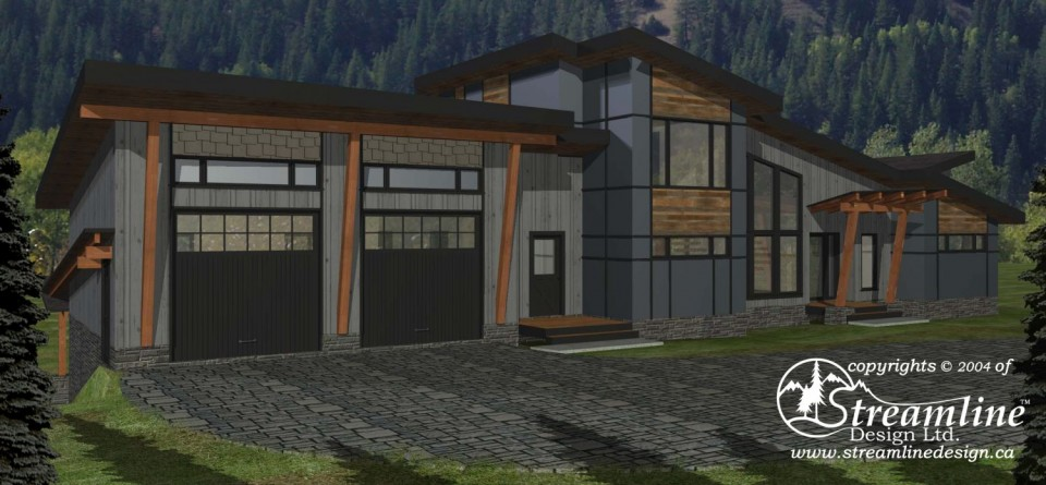 Chinook Custom Timber Frame Plan