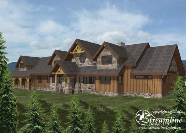 Ellsworth Custom Log Home Designs