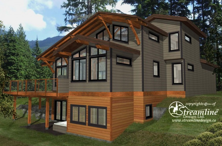 Emma Lake Timber Frame Design Plan