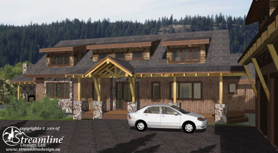 Hartman Custom Timber Frame Design